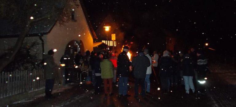 Winterabend der FFW