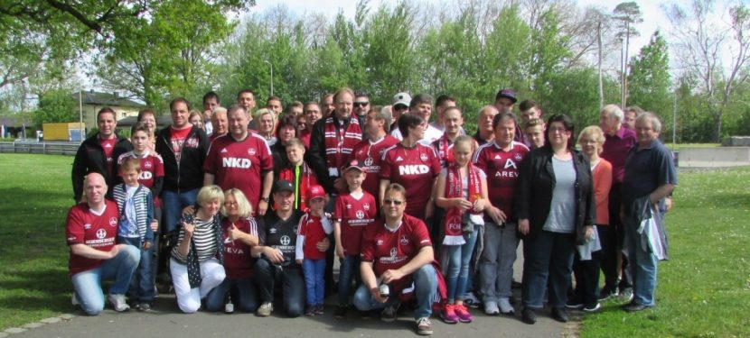 FCN-Fanclub auf Tour