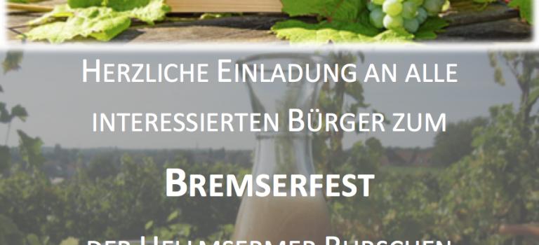 Einladung zum Bremserfest!