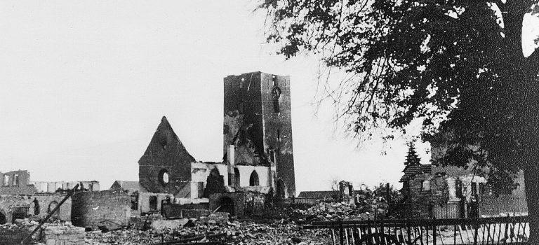 73. Jahrestag der Zerstörung Hellmitzheims
