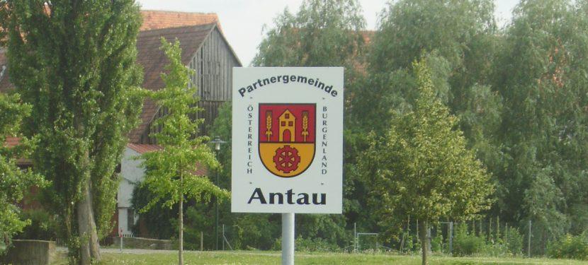 Wir besuchen unsere Freunde in Antau