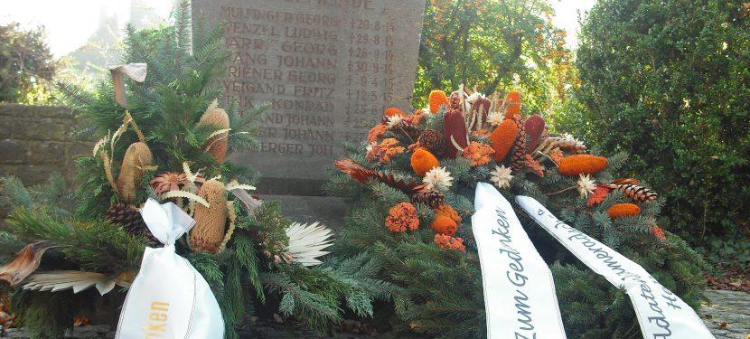 Gedenken an die Opfer von Gewaltherrschaft