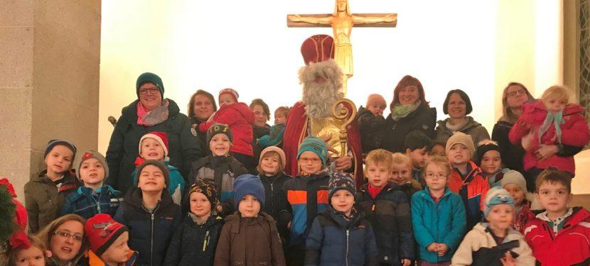 "Nikolaus besucht Kindergarten ""Pusteblume"""