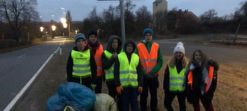 """""""Tour de Müll"""" in Hellmitzheim"""
