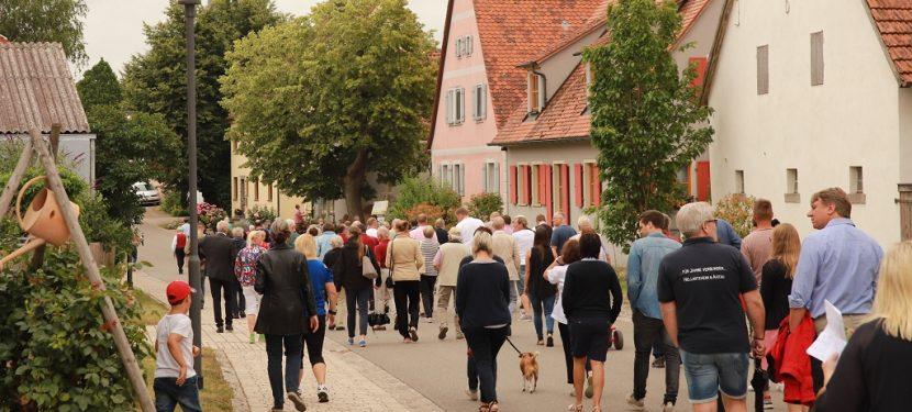 Bürgerversammlung in Hellmitzheim `21
