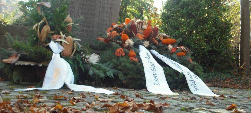 Volkstrauertag am 17. November