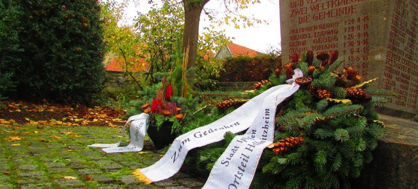 Volkstrauertag: Gedenken an Opfer von Gewaltherrschaft