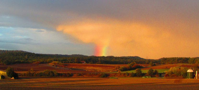 Regen im nicht so goldenen Oktober