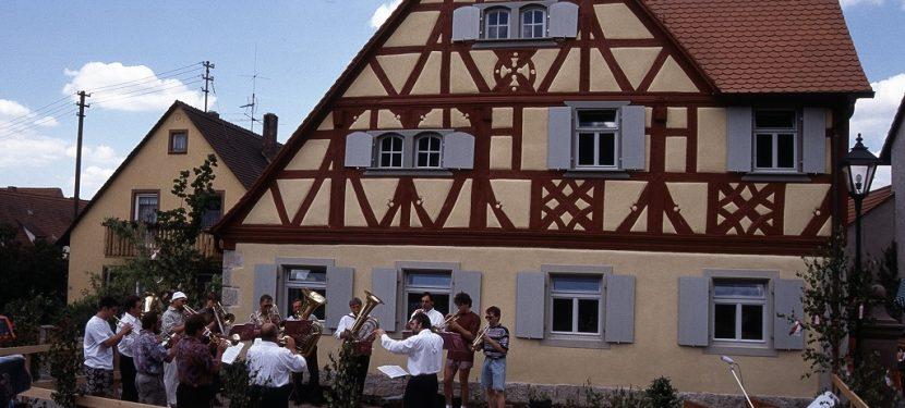 Ein Vierteljahrhundert Bürgerhaus Hellmitzheim