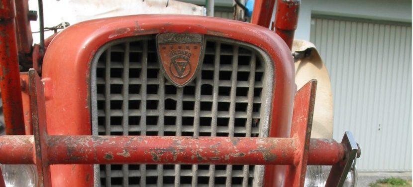 Untersuchung landwirtschaftlicher Zugmaschinen