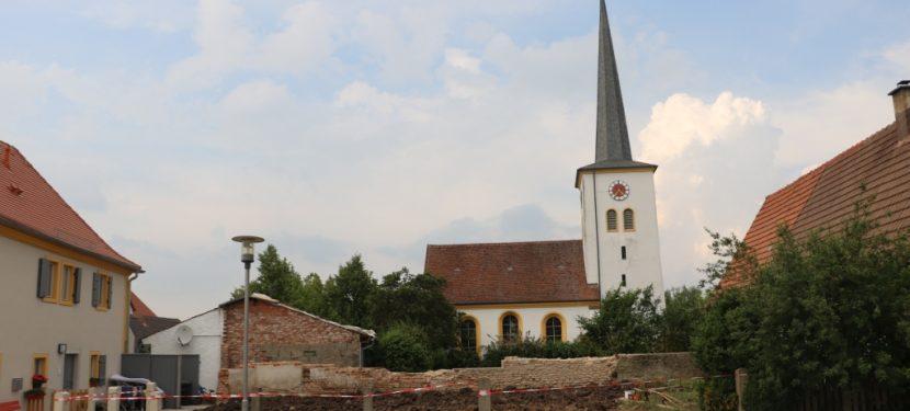 Bauplatz in Hellmitzheim